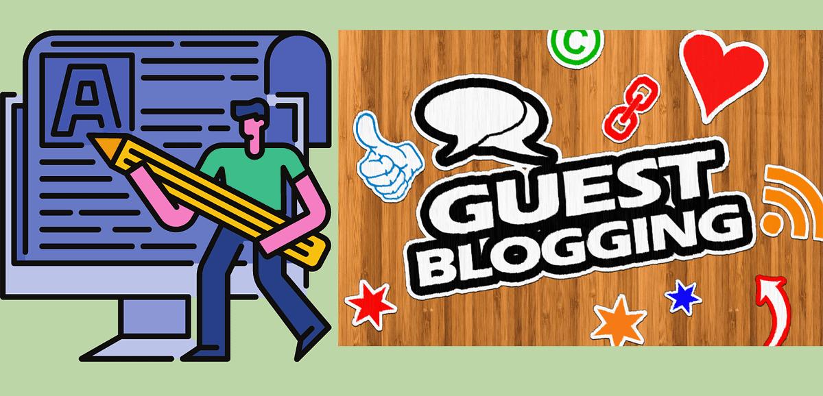 Guest blogging  free blog promotion