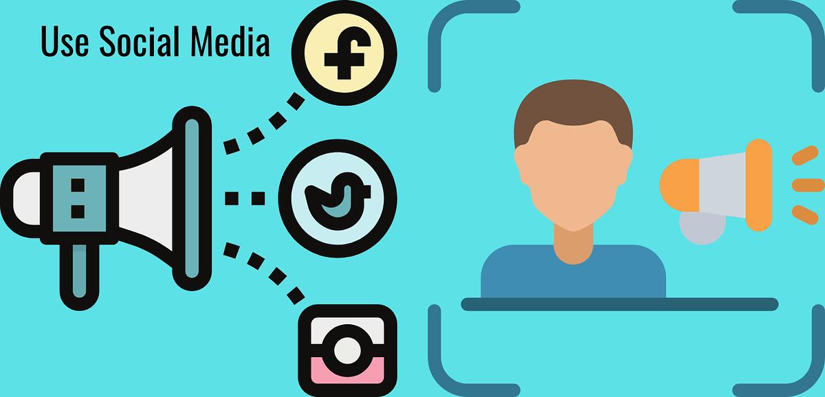 Social media  free blog promotion